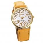 นาฬิกาข้อมือแฟชั่นบุรุษ โทนสีทอง