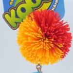 Koosh Ball สีส้ม-แดง ขนาด 2 นิ้ว