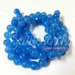 หิน blue Chalcedony 10มิล (38 เม็ด)