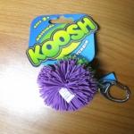 Koosh Ball สีม่วง-เขียว ขนาด 2 นิ้ว