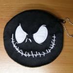 กระเป๋าสตางค์หน้าแจ๊คสีดำ
