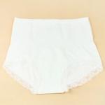 กางเกงในเอวสูงลดพุง (F) สีขาว