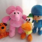 ตุ๊กตา Pocoyo ชุด 4 ตัว ขนาด 6 - 10 นิ้ว