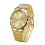นาฬิกาข้อมือแฟชั่นสตรี สีทอง