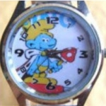 นาฬิกาข้อมือ Smurf (E) สายสีขาว