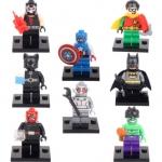 DC Comics Super Heroes ชุด 8 ตัว ขนาด 4.5 ซ.ม.